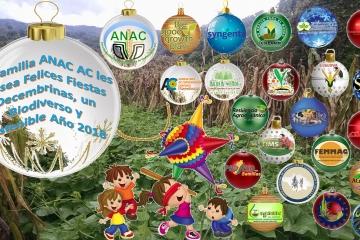 Felices Fiestas, Biodiverso y Sostenible Año 2018
