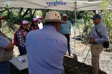 El Vicario en Apaseo el Grande, Guanajuato, sede de Evento de Agricultura Sustentable.
